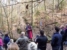 Exkursion im Schatten der Burg Kuernberg am 15.03.2015-18